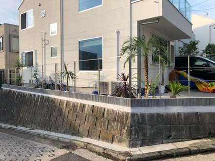 リゾートガーデン: 株式会社ムサ・ジャパン ヴェルデが手掛けた庭です。