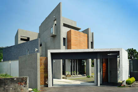 วิลล่า by 黃耀德建築師事務所  Adermark Design Studio