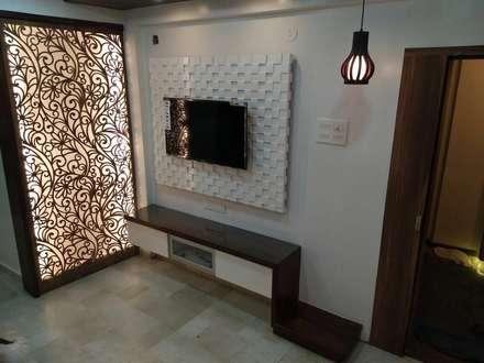 Salas / recibidores de estilo asiático por MADE AFTER DESIGN LLP