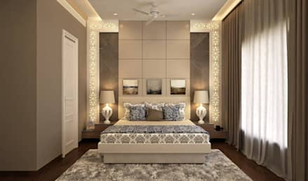 BEDROOM DESIGN : classic Bedroom by JM: The Design Consultant