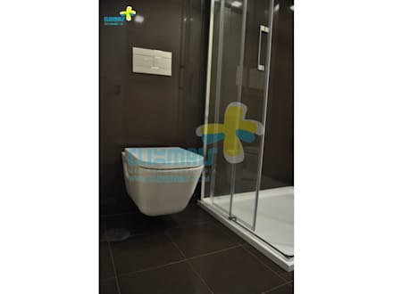 Casa de banho Suite 1 (3): Casas de banho modernas por Clix Mais
