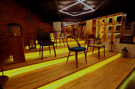 CHAIR DISPLAY AREA :  Commercial Spaces by JM: The Design Consultant