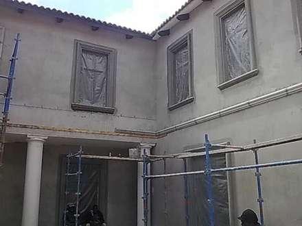 Window reveals:  Multi-Family house by Buildart - Fibreglass Specialists