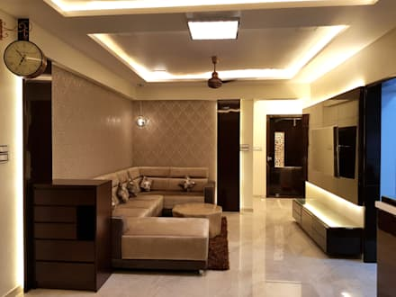 Interior residence : asian Dining room by Inter designs