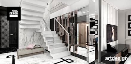 Escaleras de estilo  por ARTDESIGN architektura wnętrz