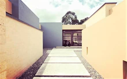 Casa H: Terrazas de estilo  por David Macias Arquitectura & Urbanismo