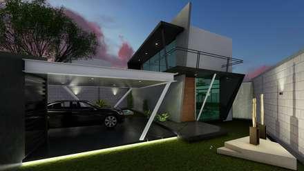 Навесы в . Автор – Pangea Arquitectura & diseño