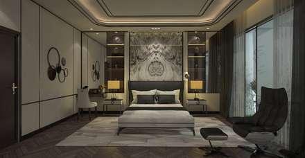ANHSAO Showroom lighting:  Cầu thang by MEG Design Studio