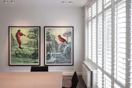 Kantoorvilla Amsterdam:  Kantoorgebouwen door About Art