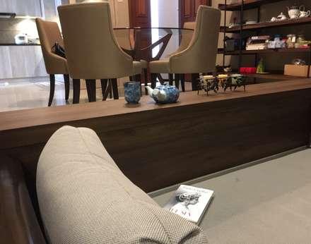 Living lounge: mediterranean Living room by FINE ART LIVING PTE LTD