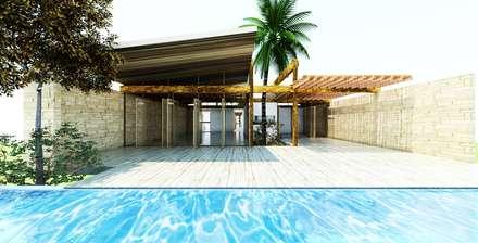 Fstudio Arquitectura의  수영용 연못