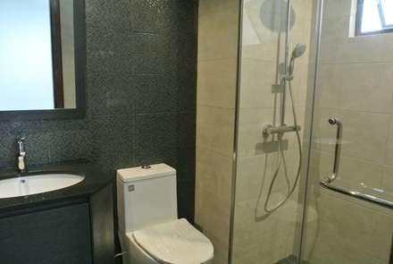 Timeless Design Guest Bath: modern Bathroom by FINE ART LIVING PTE LTD