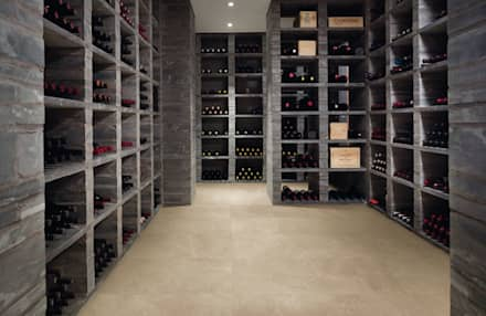 minimalistic Wine cellar by Zenth S.A. de C.V