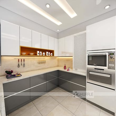 Built-in kitchens by Shuffle pages