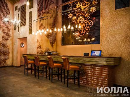 Bars & clubs by Архитектурно-производственная группа ИОЛЛА