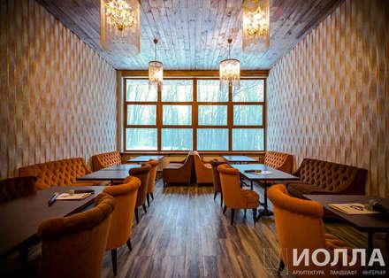 Bares y Clubs de estilo  por Архитектурно-производственная группа ИОЛЛА