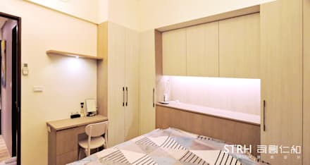rustic Bedroom by 司創仁和匯鉅設計有限公司