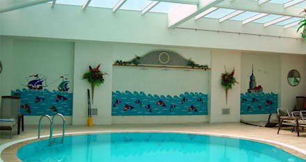 classic Pool by Mozaik Sanat Evi