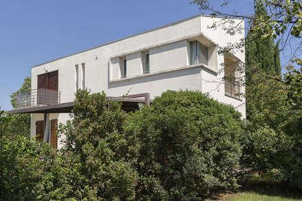 Casa CS: Case in stile in stile Moderno di GIAN MARCO CANNAVICCI ARCHITETTO