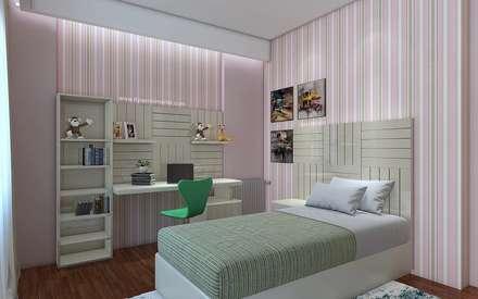 Teen bedroom by TT Yapı Mimarlık