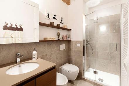 scandinavian Bathroom by Studio Architettura Macchi