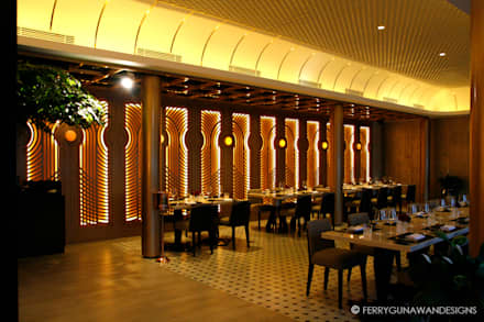 Basic Instict Restaurant:  Restoran by FerryGunawanDesigns