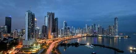 Avenida Balboa: modern Conservatory by LX Panama Real Estate