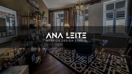 Espaço Comercial: Espaços comerciais  por ANA LEITE - INTERIOR DESIGN STUDIO