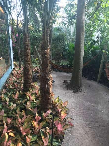 Jardines con piedras de estilo  por Luísa Nascimento - Homify