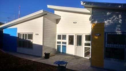 Bungalow by Nomade Arquitectura y Construcción spa