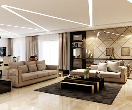 modern Living room by Spaces Alive