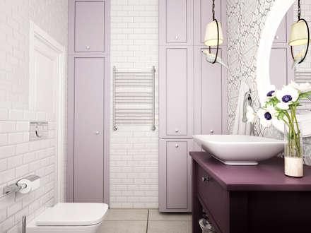 Погораны: Ванные комнаты в . Автор – Айрис Эстет