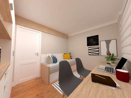 مكتب عمل أو دراسة تنفيذ Fernanda Quelhas Arquitetura