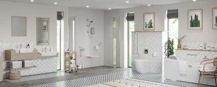 Independent Living - Bathroom ideas: modern Bathroom by Victoria Plum