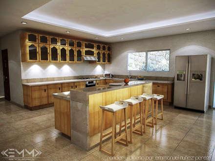 Cozinhas coloniais por EMM Studio