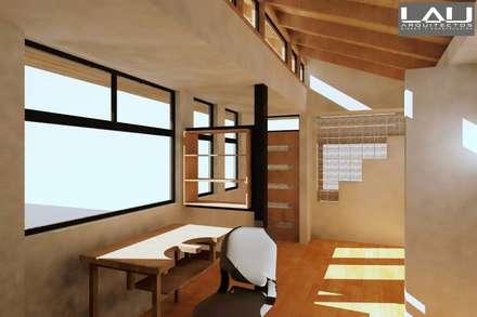 Taller Orfebre: Salas multimedias de estilo  por Lau Arquitectos