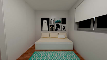 Boys Bedroom by IAM Interiores