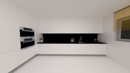 Built-in kitchens by IAM Interiores