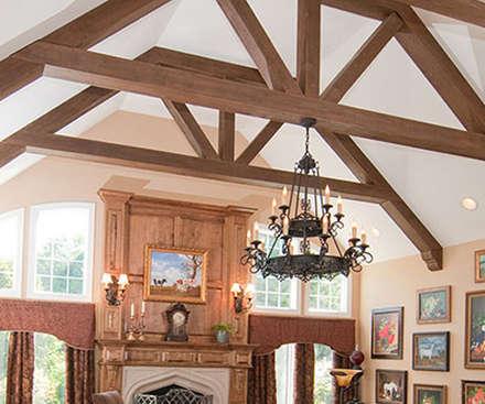 ceilings: Espacios comerciales de estilo  por Premium commercial remodeling