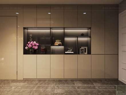 Thiết kế nội thất hiện đại tinh tế ở căn hộ Vinhomes Central Park:  Cửa ra vào by ICON INTERIOR