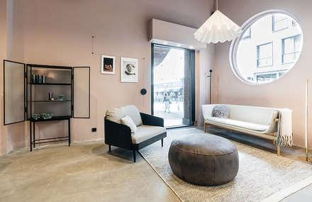 Espacios comerciales de estilo  por Studio Kustlijn Architecten