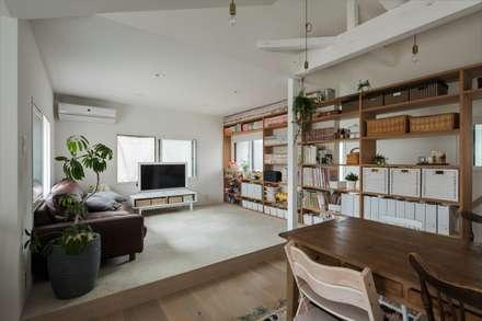 mediterranean Living room by ALTS DESIGN OFFICE