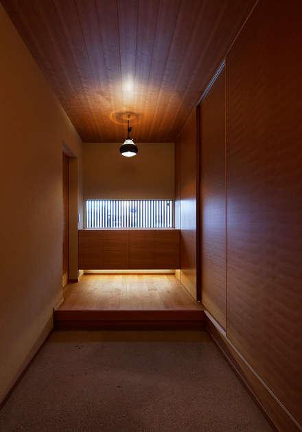 天然泳池 by 空間工房 用舎行蔵 一級建築士事務所