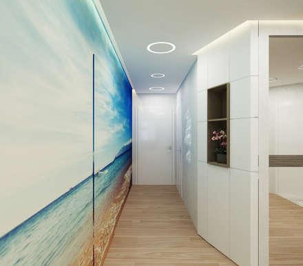 Koridor dan lorong by Студия дизайна Татьяны Лазурной