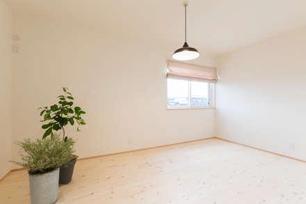 غرفة نوم مراهقين  تنفيذ KAWAZOE-ARCHITECTS