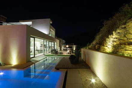 Fincas de estilo  por Federico  Cappellina Architetto