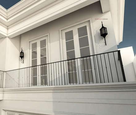 Light Classic:  Rumah by AIGI Architect + Associates