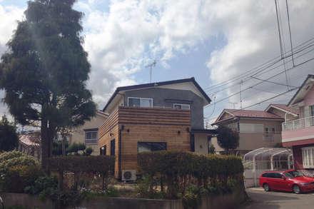 منزل خشبي تنفيذ 大畠稜司建築設計事務所