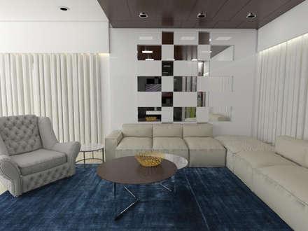 Residence Interiors: modern Dining room by URBAIN DEZIN STUDIO