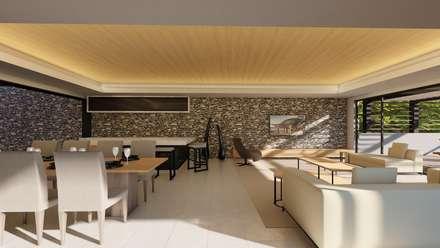 38 SAGILA: modern Living room by CA Architects